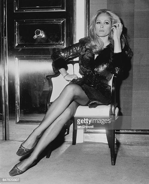 Swiss actress Ursula Andress at a party at the Savoy Hotel London 11th September 1969 Andress is in London to work on Peter Hall's bank heist film...