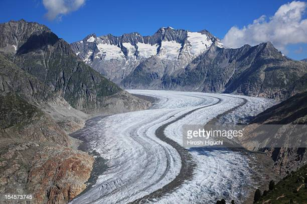 Swiss Alps, Aletsch glaciers