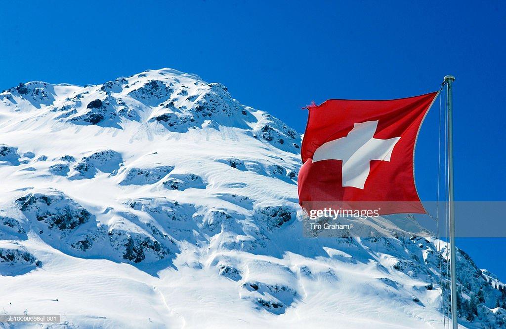 Swiss Alps, Klosters, Switzerland : Stock Photo