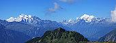Swiss Alps, Matterhorn in middle