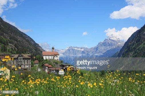 Swiss Alps, Wassen