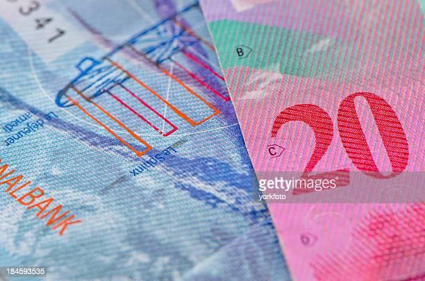 Schweizer Währung Franc