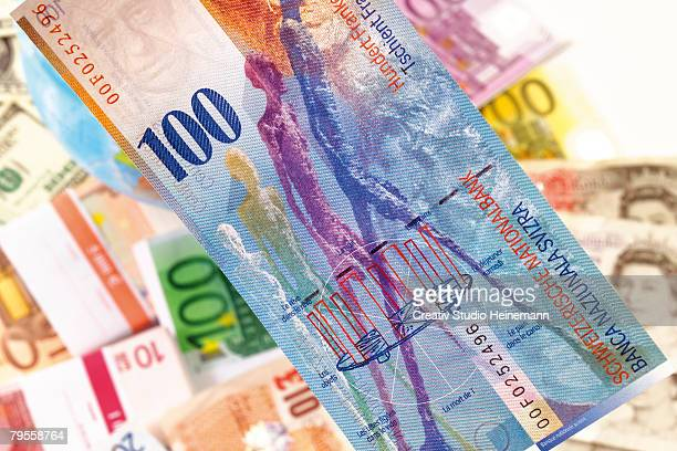 Swiss francs and diffrenet currencies