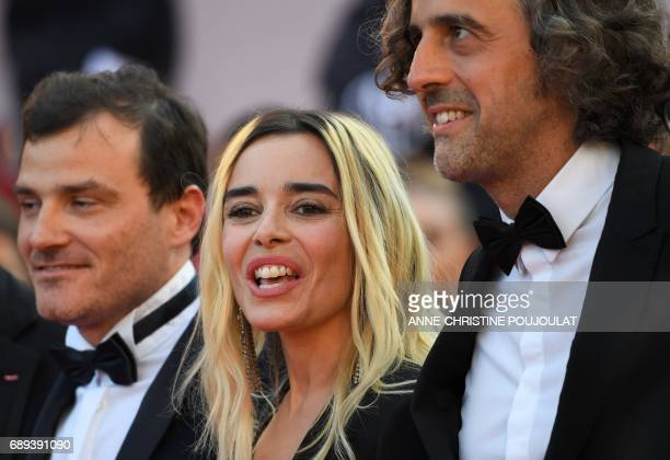 Swiss producer and member of the Camera d'Or jury Michel Merkt French actress and member of the Camera d'Or jury Elodie Bouchez and French director...