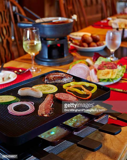 Swiss Raclette and Fondue