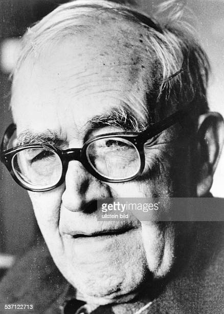 KARL BARTH Swiss theologian Photographed c1960