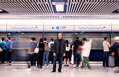Swiss Tourist Stands Out From Crowd in Hong Kong Subway