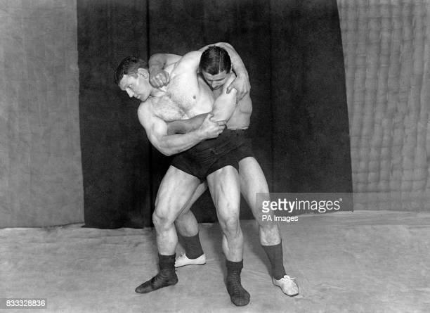 Swiss wrestler John Lemm