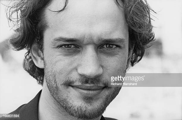 Swissborn French actor Vincent Perez at the Hotel Du Cap in Antibes France shortly after the Cannes Film Festival June 1995 He is there to publicise...