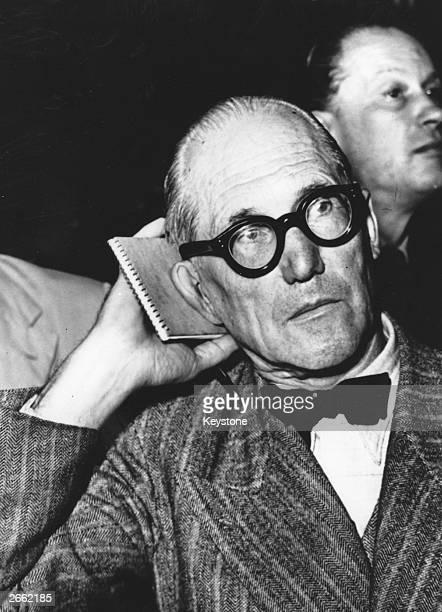Swissborn French architect Le Corbusier