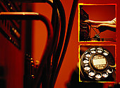 Switchboard, Operator and Telephone Dial