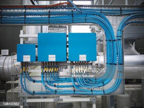 Switchgear at gas storage plant