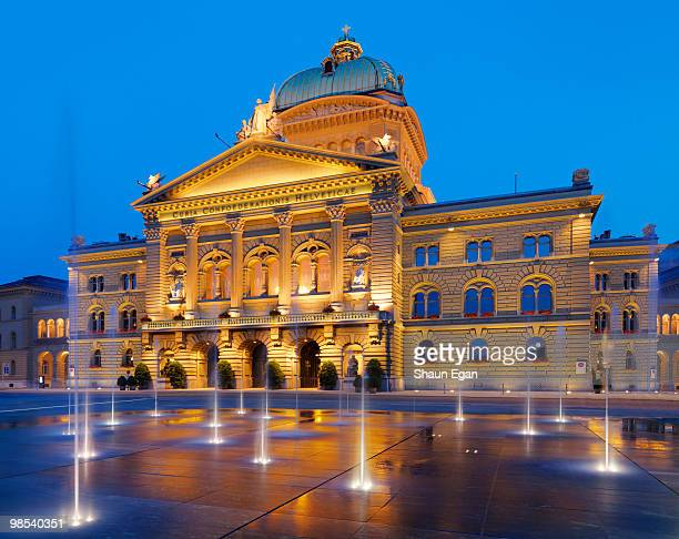 Switzerland, Berne, Bundesplatz,  Parliament