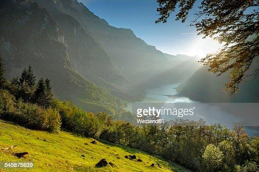 Switzerland, Canton of Glarus, Kloen Valley,