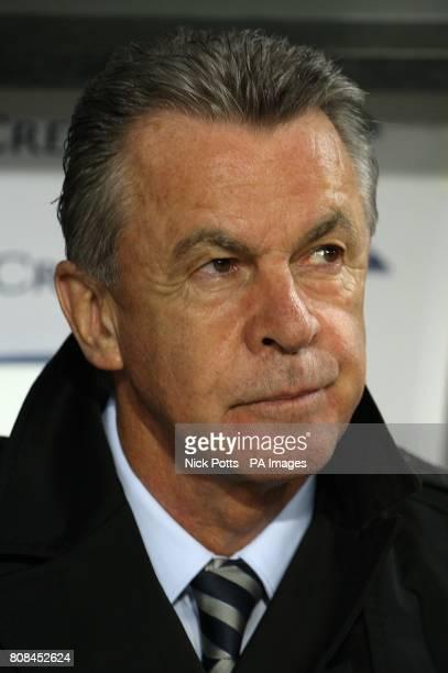 Switzerland head coach Ottmar Hitzfeld