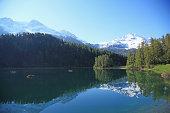 Switzerland, Lake and Mountain