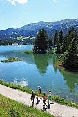Switzerland, Lake Heid