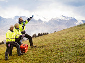 Switzerland Mountain Rescue Team Signaling