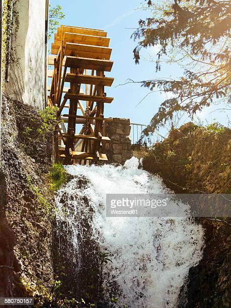 Switzerland, near Schaffhausen, old water mill