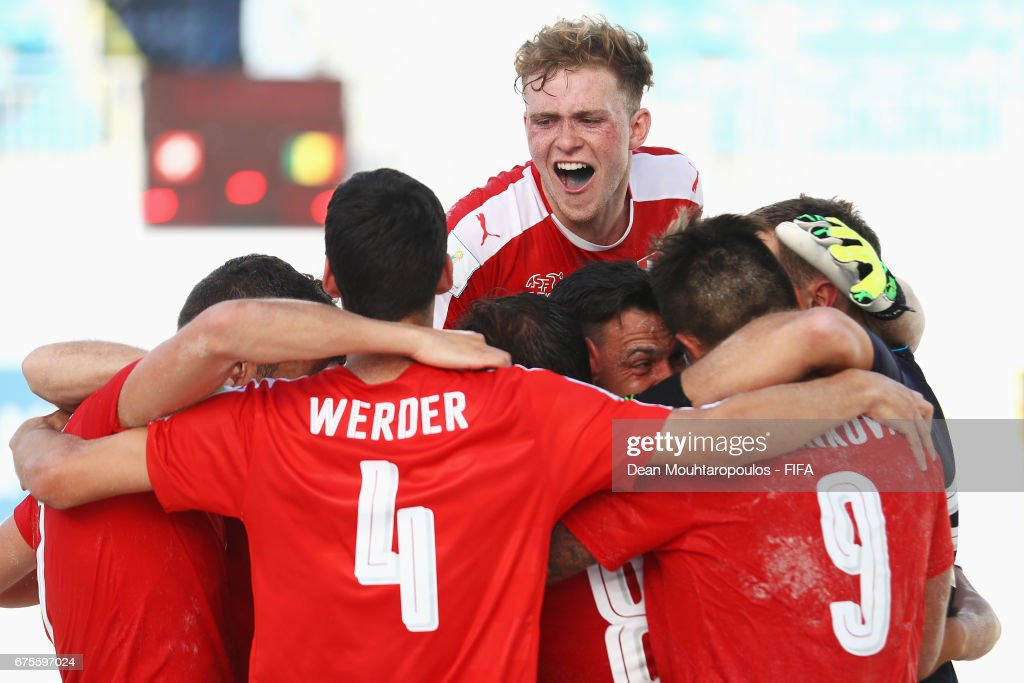 Switzerland v Senegal - FIFA Beach Soccer World Cup Bahamas 2017