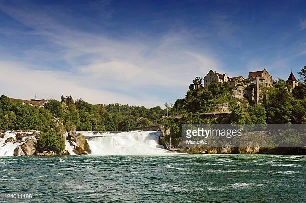 in der Schweiz Rheinfall von Schaffhausen