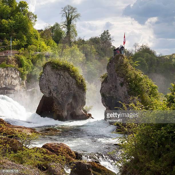 Switzerland, Schaffhausen, Rhine falls