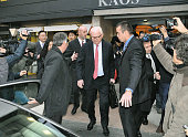 GENEVA Switzerland Stephen Bosworth US special envoy on North Korea emerges on Oct 24 2011 from a hotel in Geneva where he is staying Bosworth began...