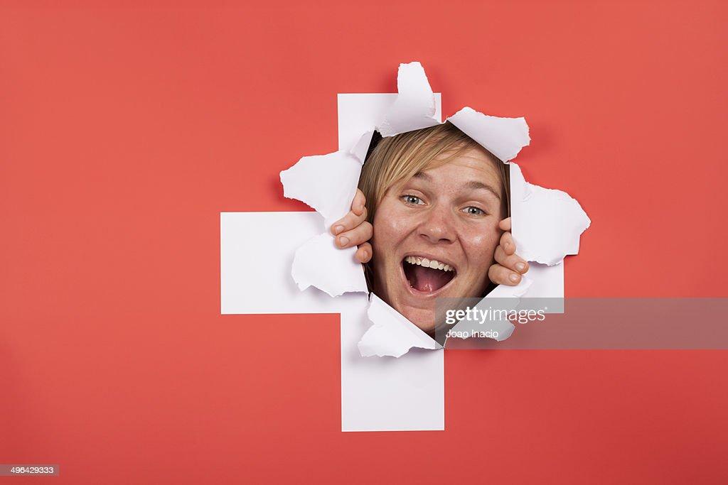 Switzerland supporter