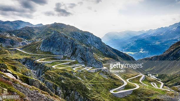 Switzerland, Tessin, Valle Laventina, Gotthard Pass