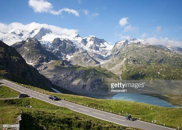 Switzerland, Uri Alps, Susten Pass and Lake Steinsee