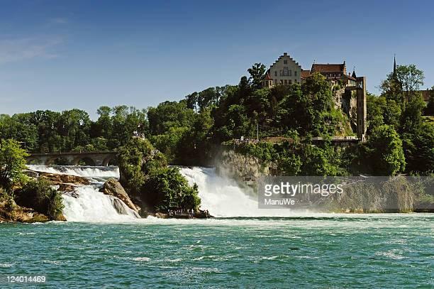 Schweiz Wasserfall, den Rheinfall von Schaffhausen