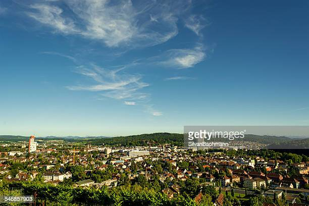 Switzerland, Winterthur, Elevated view of town