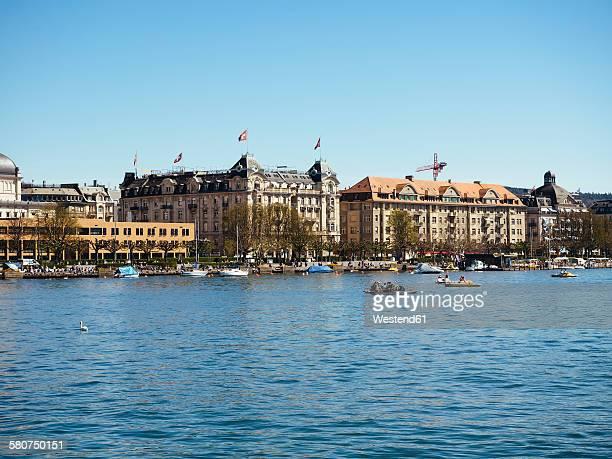 Switzerland, Zurich, Lake Zurich