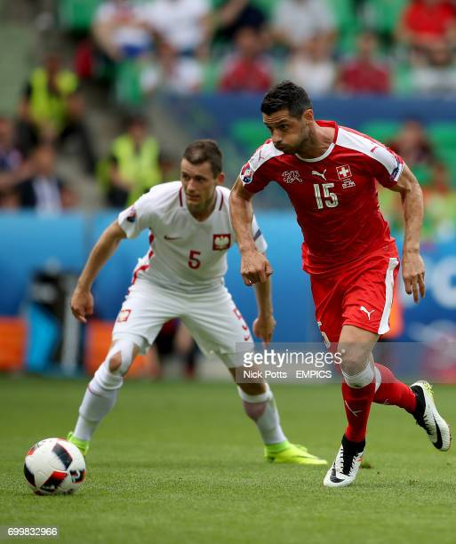 Switzerland's Blerim Dzemaili