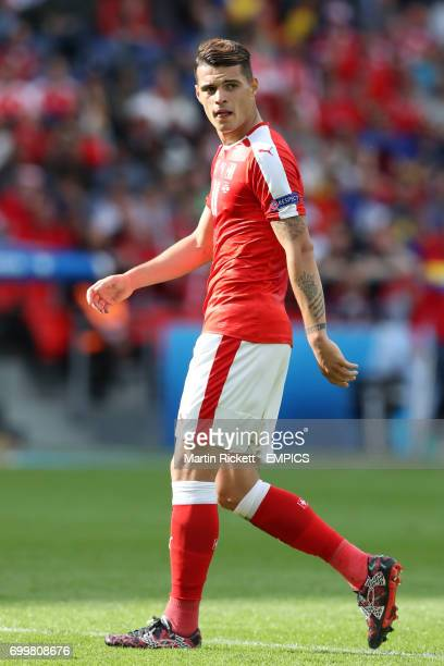 Switzerland's Granit Xhaka