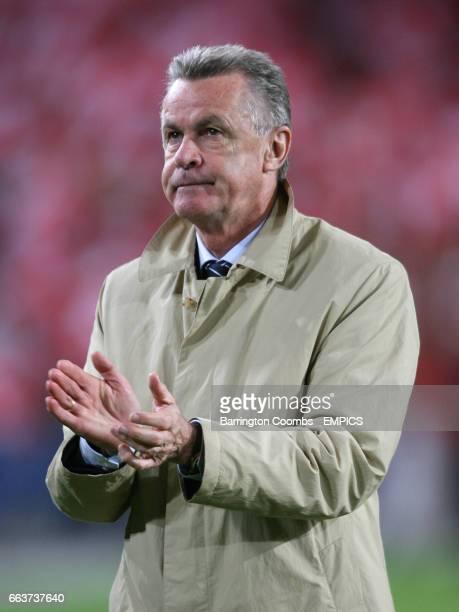 Switzerland's head coach Ottmar Hitzfeld