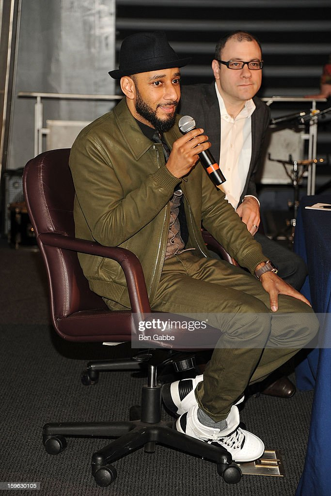 <a gi-track='captionPersonalityLinkClicked' href=/galleries/search?phrase=Swizz+Beatz&family=editorial&specificpeople=567154 ng-click='$event.stopPropagation()'>Swizz Beatz</a> and Bill Werde attend The Intrepid Museum's 'Power Of One' Presents: <a gi-track='captionPersonalityLinkClicked' href=/galleries/search?phrase=Swizz+Beatz&family=editorial&specificpeople=567154 ng-click='$event.stopPropagation()'>Swizz Beatz</a> at Intrepid Sea-Air-Space Museum on January 17, 2013 in New York City.