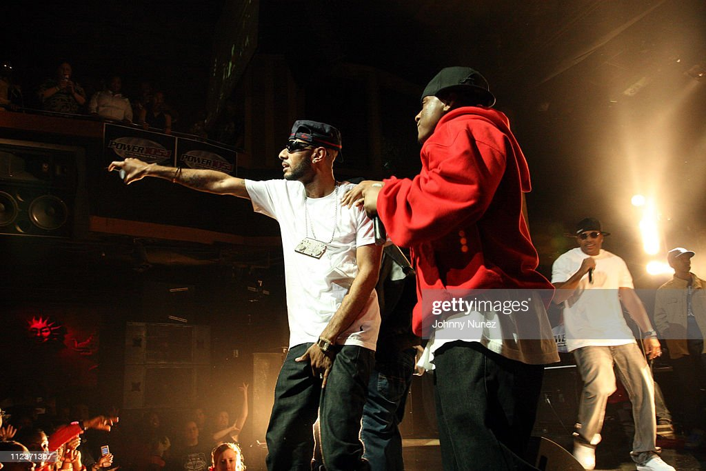 Swizz Beatz and Cassidy during Power 1051 FM Fifth Birthday Bash at Webster Hall in New York City New York United States