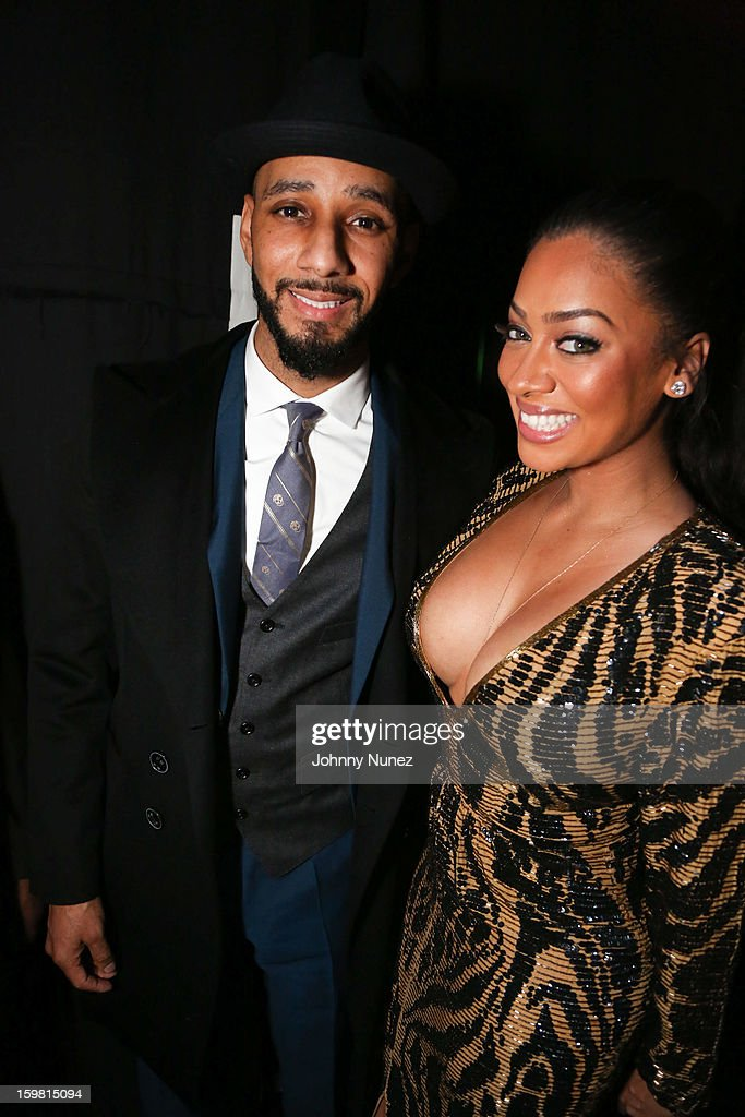 Swizz Beatz and La La Anthony attend The Hip-Hop Inaugural Ball II at Harman Center for the Arts on January 20, 2013 in Washington, DC.