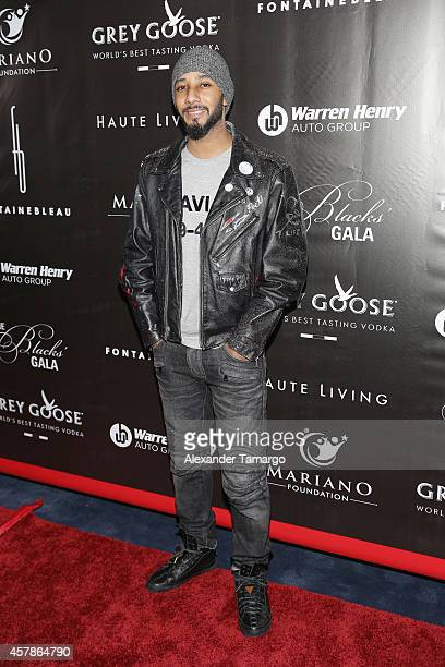 Swizz Beatz attends Blacks' Annual Gala at Fontainebleau Miami Beach on October 25 2014 in Miami Beach Florida