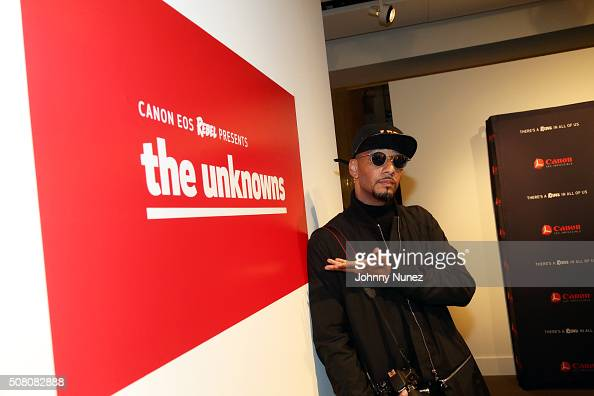 Swizz Beatz attends Canon's Rebel With A Cause silent auction at Sotheby's on February 2 2016 in New York City
