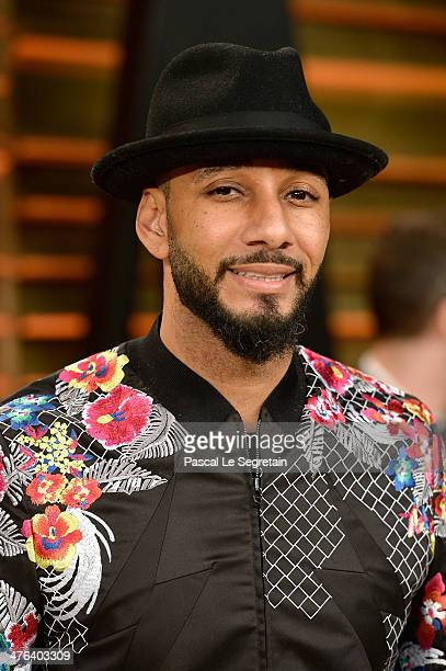 Swizz Beatz attends the 2014 Vanity Fair Oscar Party hosted by Graydon Carter on March 2 2014 in West Hollywood California