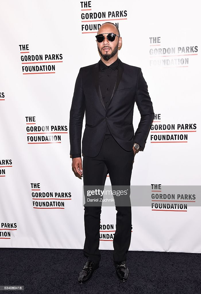 Swizz Beatz attends the 2016 Gordon Parks Foundation Awards Dinner at Cipriani 42nd Street on May 24 2016 in New York City
