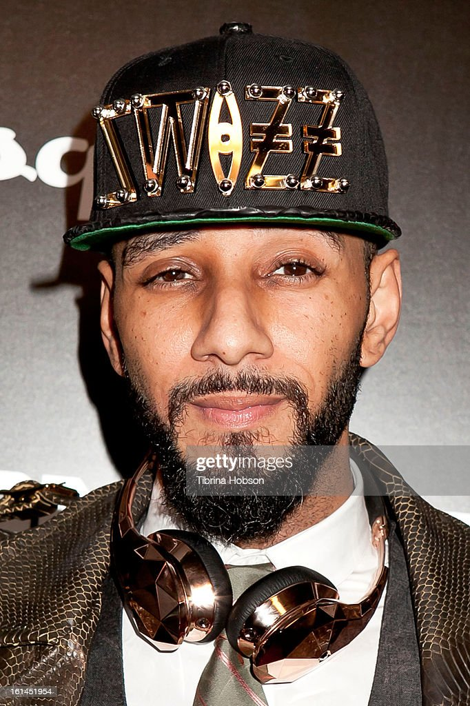<a gi-track='captionPersonalityLinkClicked' href=/galleries/search?phrase=Swizz+Beatz&family=editorial&specificpeople=567154 ng-click='$event.stopPropagation()'>Swizz Beatz</a> attends the 'House of Hype' Monster Grammy party at SLS Hotel on February 10, 2013 in Los Angeles, California.
