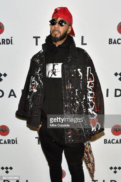 Swizz Beatz attends TIDAL X Brooklyn at Barclays Center of Brooklyn on October 17 2017 in New York City