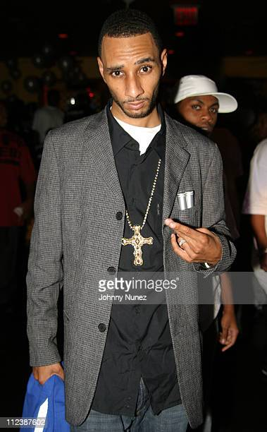 Swizz Beatz during Swizz Beatz Birthday Party at Babalus in New York City New York United States