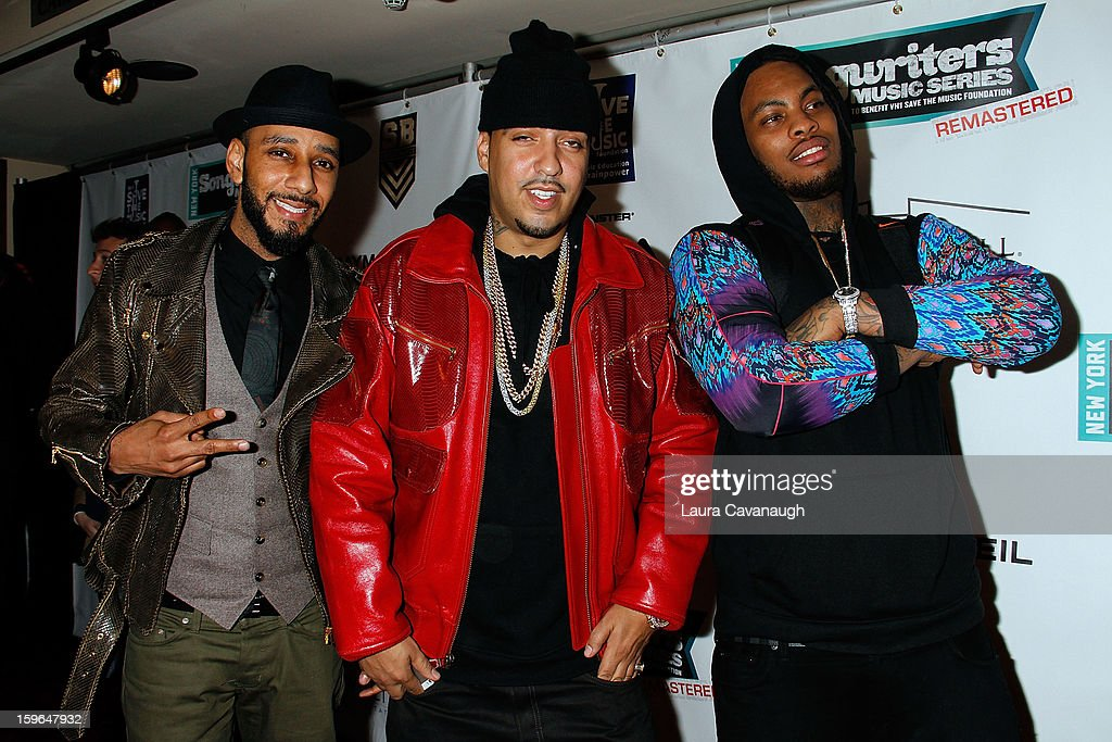<a gi-track='captionPersonalityLinkClicked' href=/galleries/search?phrase=Swizz+Beatz&family=editorial&specificpeople=567154 ng-click='$event.stopPropagation()'>Swizz Beatz</a>, <a gi-track='captionPersonalityLinkClicked' href=/galleries/search?phrase=French+Montana&family=editorial&specificpeople=7131467 ng-click='$event.stopPropagation()'>French Montana</a> and Wacka Flacka Flame attend The VH1 Save The Music Foundation's 'Songwriter Music Series' With <a gi-track='captionPersonalityLinkClicked' href=/galleries/search?phrase=Swizz+Beatz&family=editorial&specificpeople=567154 ng-click='$event.stopPropagation()'>Swizz Beatz</a> at Hard Rock Cafe - Times Square on January 17, 2013 in New York City.