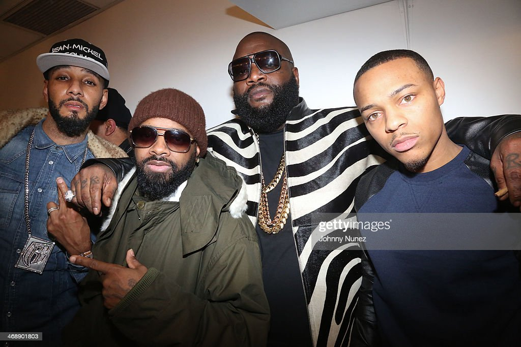 <a gi-track='captionPersonalityLinkClicked' href=/galleries/search?phrase=Swizz+Beatz&family=editorial&specificpeople=567154 ng-click='$event.stopPropagation()'>Swizz Beatz</a>, <a gi-track='captionPersonalityLinkClicked' href=/galleries/search?phrase=Jermaine+Dupri&family=editorial&specificpeople=201712 ng-click='$event.stopPropagation()'>Jermaine Dupri</a>, <a gi-track='captionPersonalityLinkClicked' href=/galleries/search?phrase=Rick+Ross+-+Rapper&family=editorial&specificpeople=11492924 ng-click='$event.stopPropagation()'>Rick Ross</a> and <a gi-track='captionPersonalityLinkClicked' href=/galleries/search?phrase=Bow+Wow+-+Rapper&family=editorial&specificpeople=211211 ng-click='$event.stopPropagation()'>Bow Wow</a> attend the <a gi-track='captionPersonalityLinkClicked' href=/galleries/search?phrase=Rick+Ross+-+Rapper&family=editorial&specificpeople=11492924 ng-click='$event.stopPropagation()'>Rick Ross</a> 'Mastermind' Listening Event at New World Stages on February 11, 2014 in New York City.