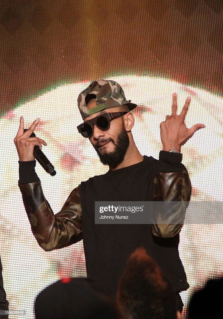 Swizz Beatz performs at the BET '106 & Party' New Years Eve celebration on December 31, 2012, in New York City.
