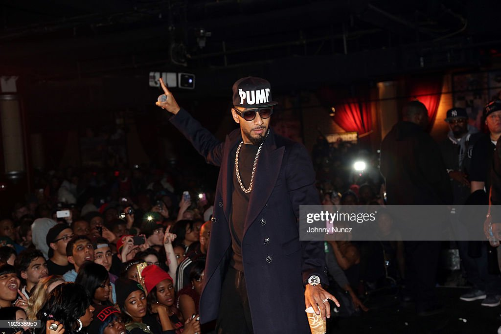 Swizz Beatz performs at Waka Flocka's 'Thank You To Hip Hop' concert at BB King on February 21, 2013, in New York City.